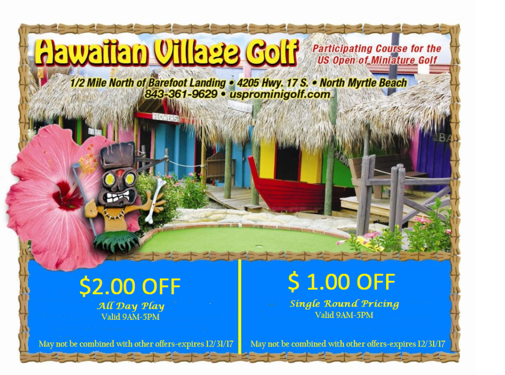 Hawaiian Village_Coupon